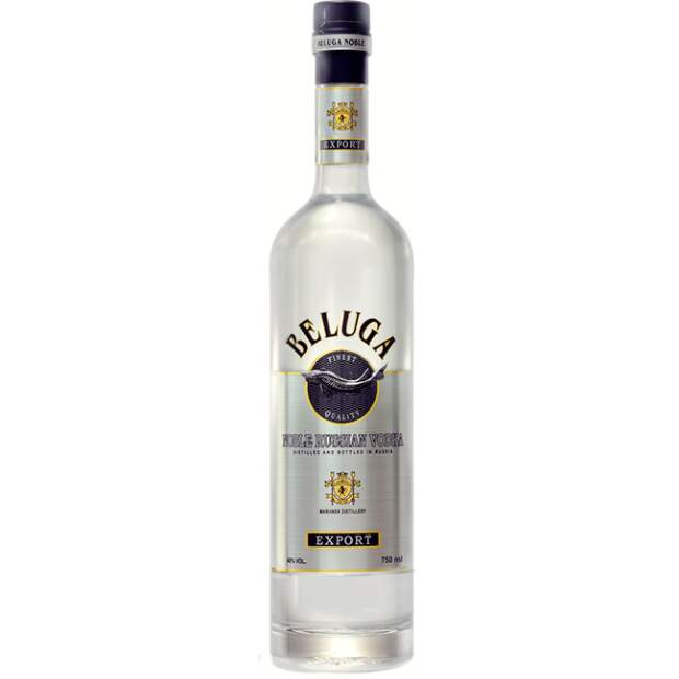 Beluga Russian Vodka Silver